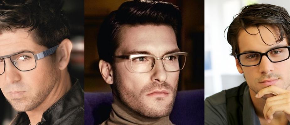 стрижки с очками для зрения