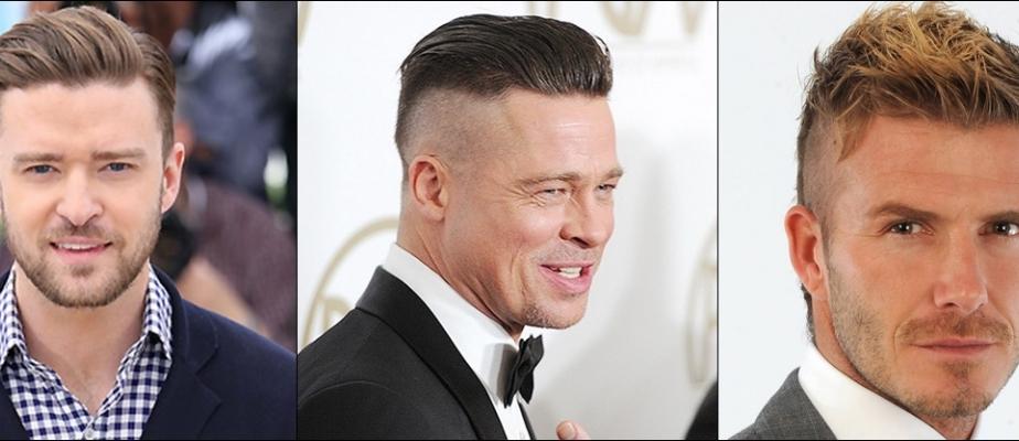 Причёски с выбритыми висками и затылком мужские