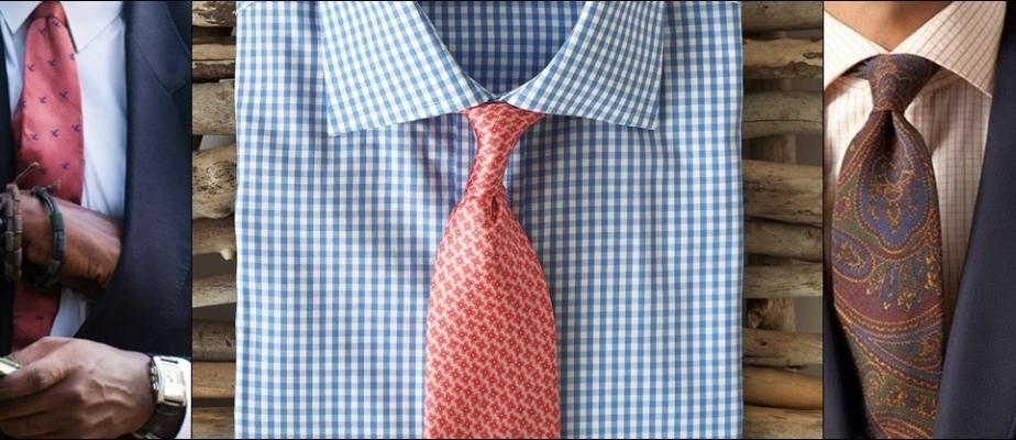 галстук к рубашке: