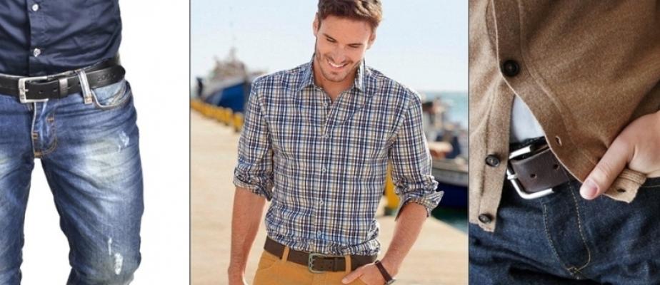 Как подобрать ремень под джинсы: советы мужчинам