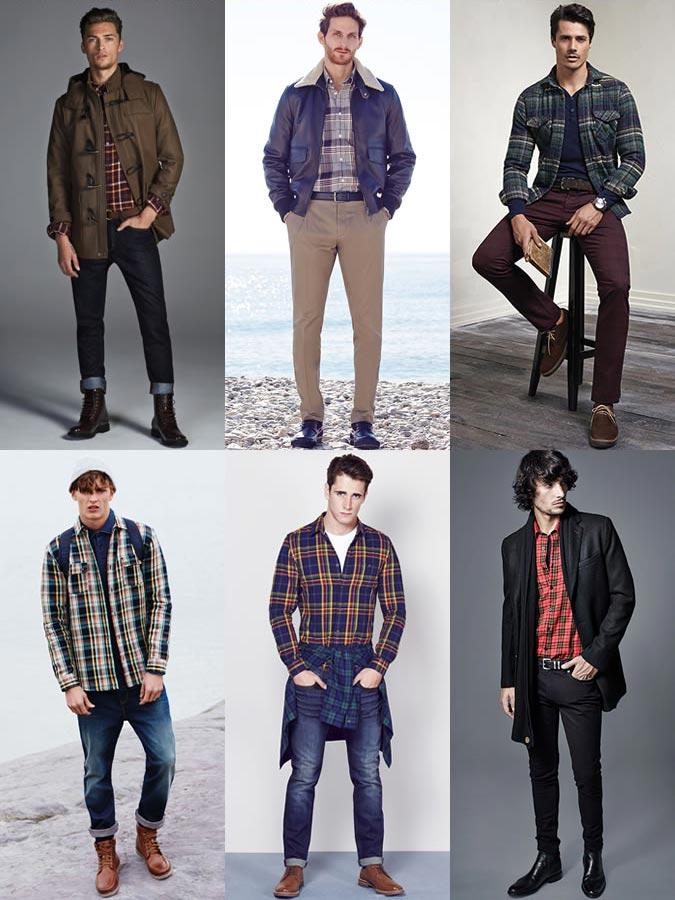 d22f5906aad6ada Мужские рубашки в клетку – как легко создать стильный образ.