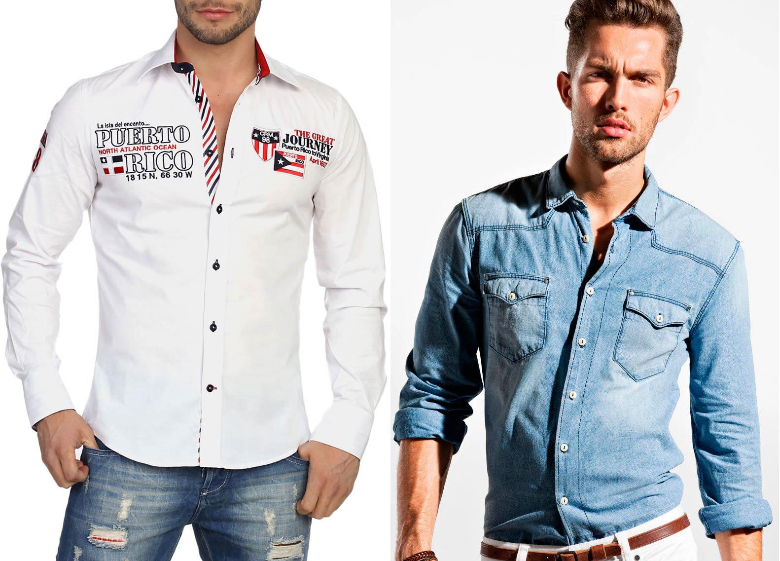 d1b07d19ade Мужские рубашки  как и с чем носить разные виды рубашек