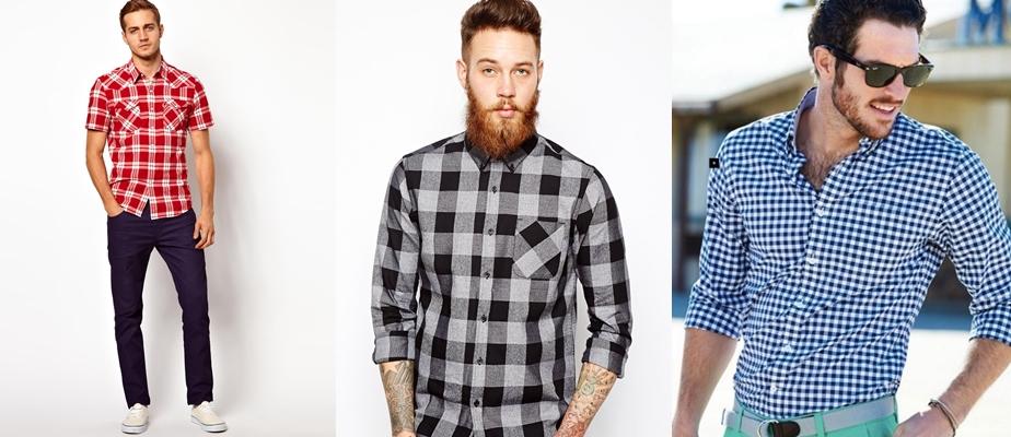 3ad3495bfc677f5 Мужские рубашки в клетку – как легко создать стильный образ.