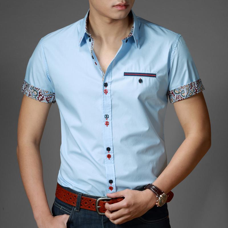 5877804d3 Рубашка с коротким рукавом является практичной и стильной вещью ...