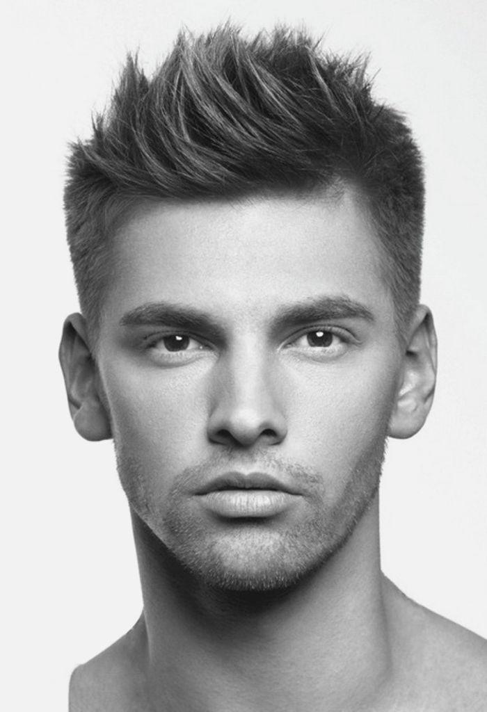 мужские причёски для коротких волос фото