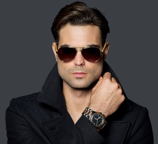 фото мужчин темных в очках