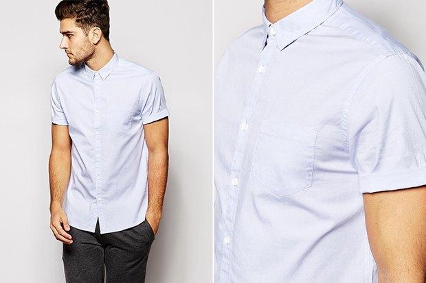 мужчина в белой рубашке