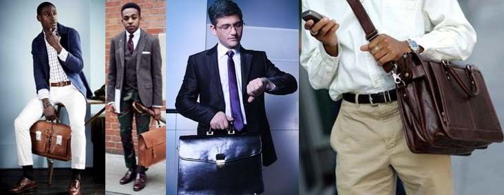 Что носят в мужском портфеле