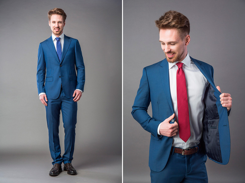 Яркие цвета в мужском костюме