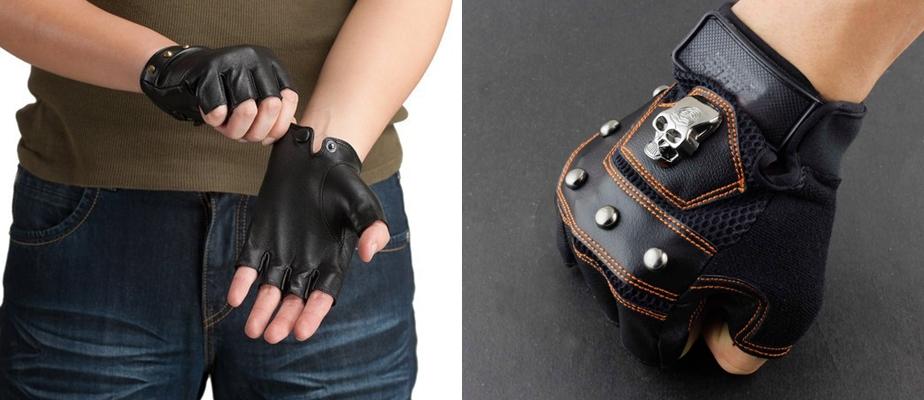 Как сделать перчатки без пальцев своими руками мужские 60