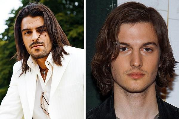 Длинные жёсткие волосы у мужчин