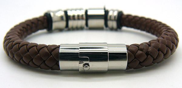 Мужские браслеты на руку из кожи брендовые