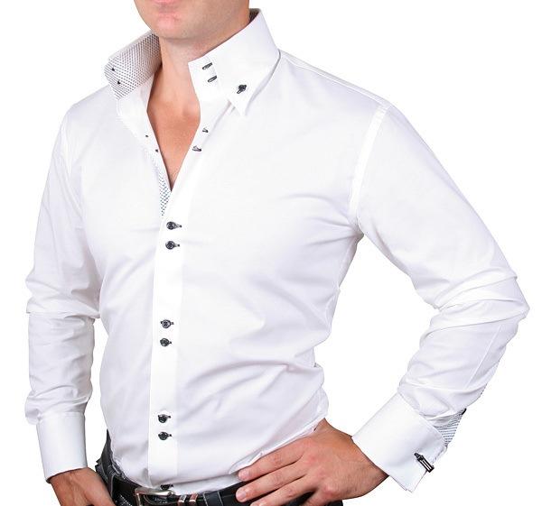 Белая мужская рубашка рекомендации