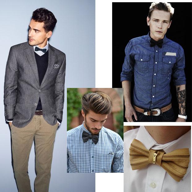 Бабочка-галстук с чем носить фото