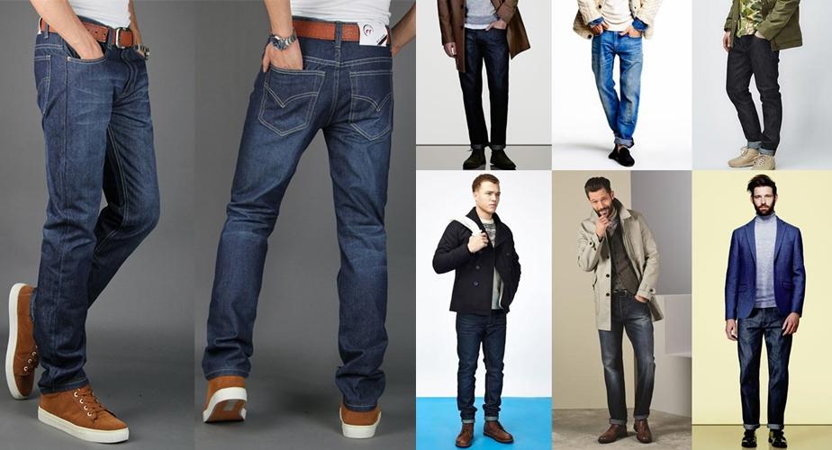 Виды и типы мужских джинс фото